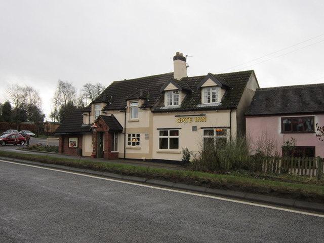 The Gate Inn on Hinckley Road, Osbaston