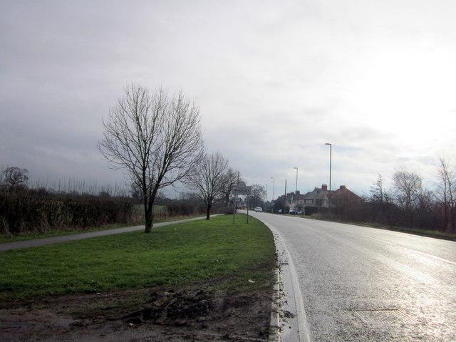Entering Hinckley on Ashley Road