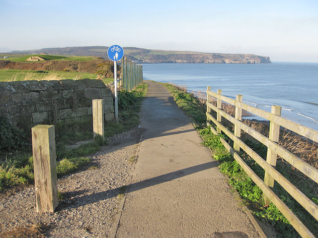 A lovely stretch of the Cleveland Way