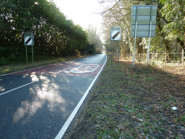 A275 south out of North Chailey