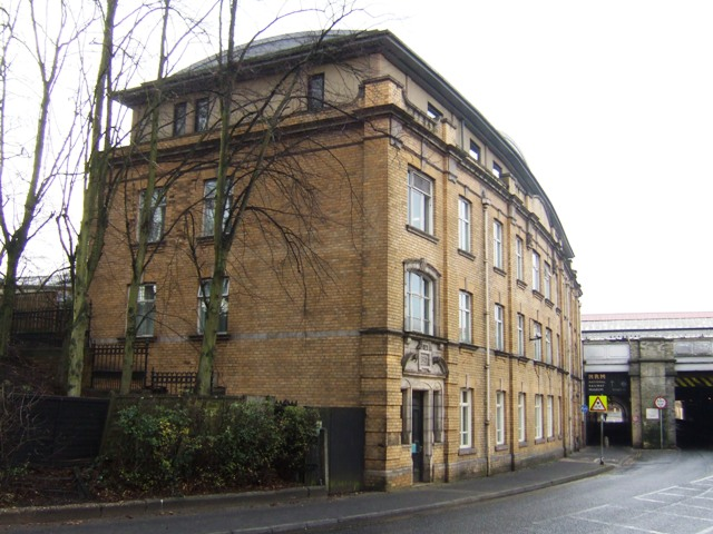 Railway buildings on Leeman Road