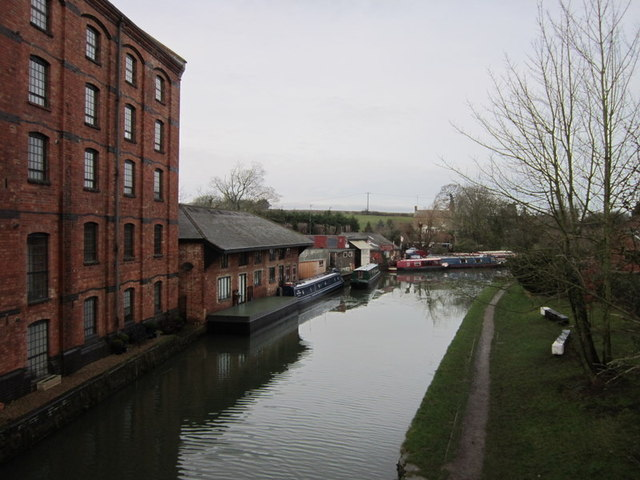 The Grand Union Canal at Blisworth