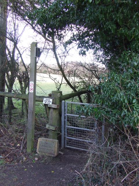 Public footpath near Otford