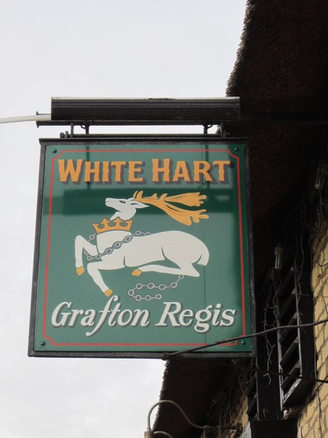 The White Hart, Grafton Regis