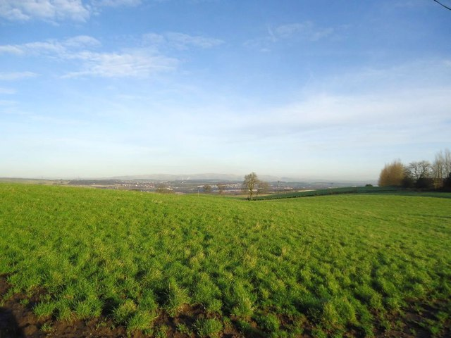 Burnhouse, grazing land