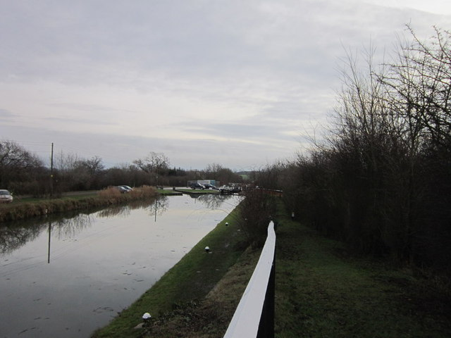 The Grand Union Canal from the A508