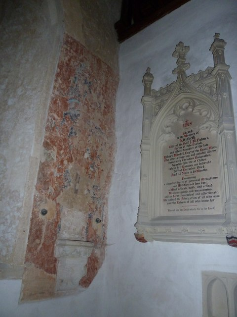 St Mary's Church, Breamore- memorial (e)