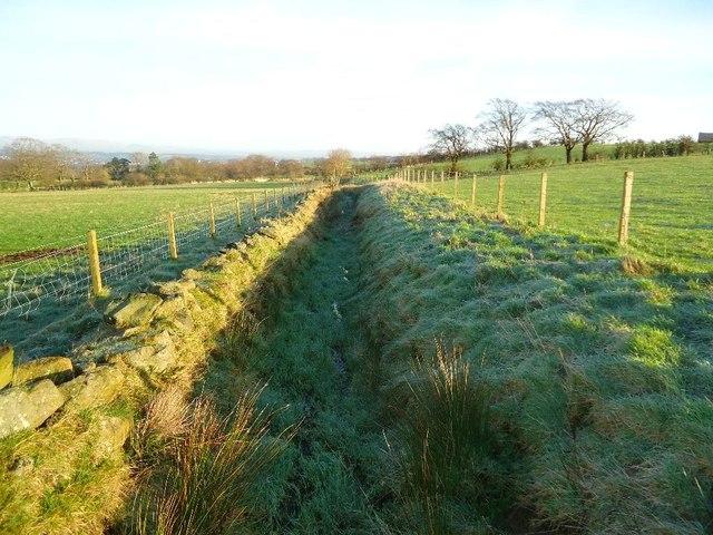 Burnhouse, field drain