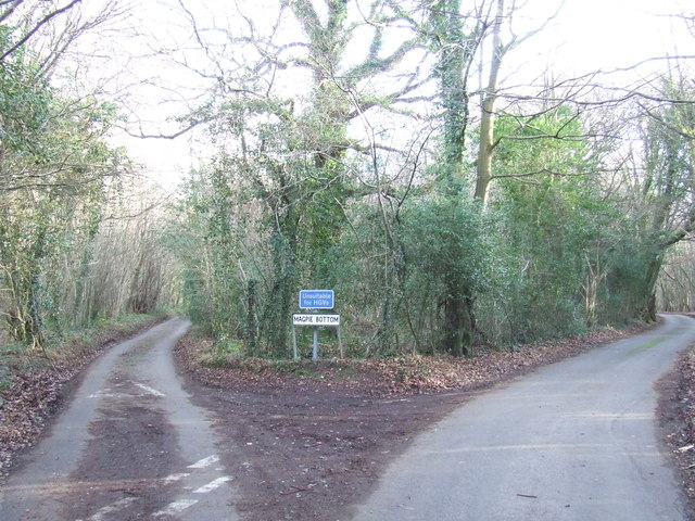 Country lanes near Otford