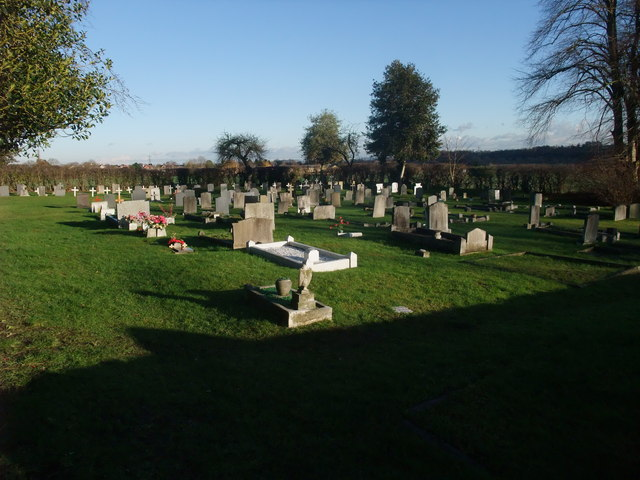 Cemetery next to the church of St Mary the Virgin, Weston-on-Trent