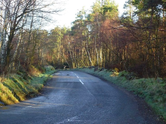 South Drum, road to Falkirk
