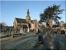 SK3825 : Melbourne Cemetery, Pack Horse Road, King's Newton by Tim Heaton