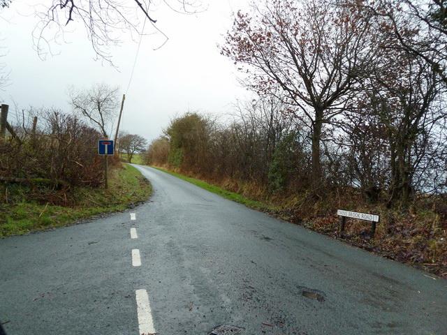 Road to Saddle End Farm