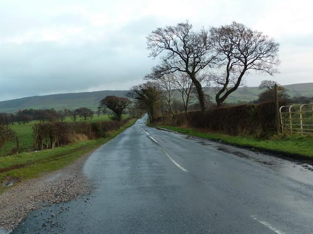 Road to Clitheroe at Green Slack