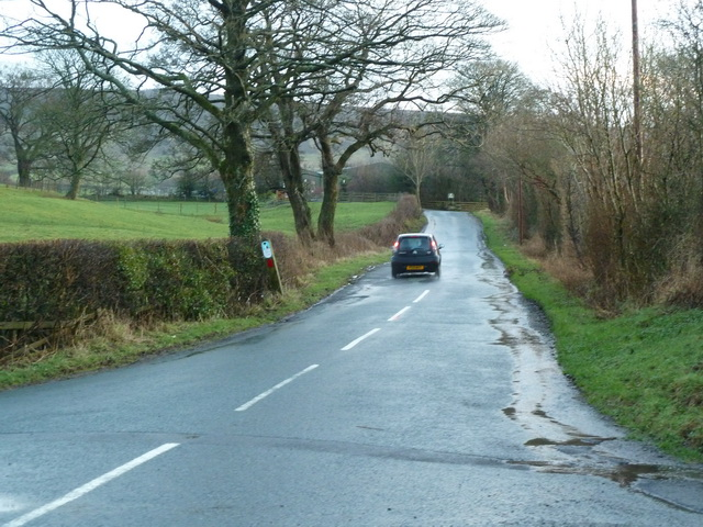 Road to Carr Side Farm