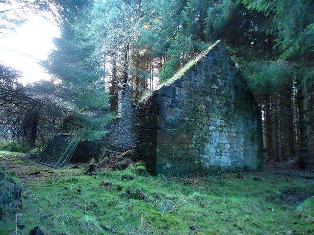 Wester Loanfoot Farm (ruins)