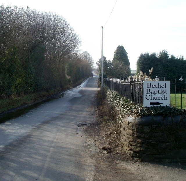 Road from Bassaleg to Pen-y-lan