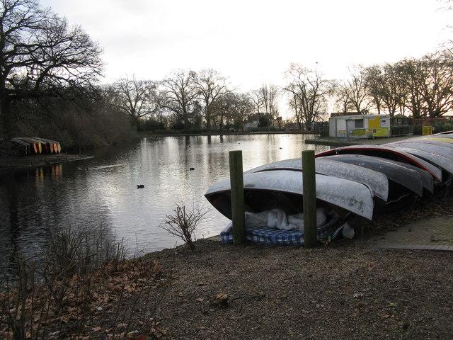Finsbury Park boating lake