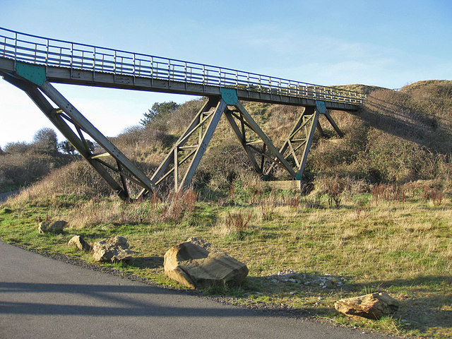 Golfers' footbridge