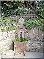 ST2687 : Garth Hill Water Trough, Bassaleg by Jaggery