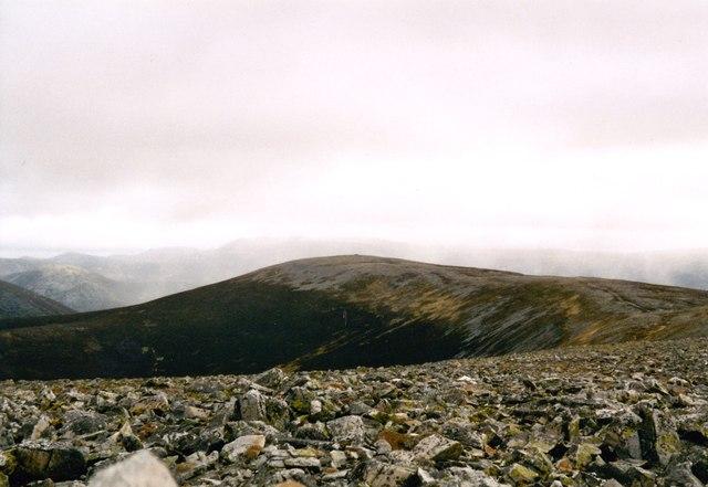 Beinn Iuthran Mor's north west corrie