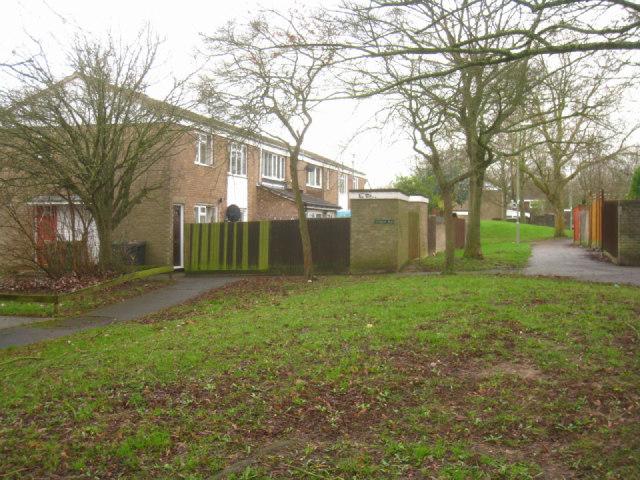 Path amongst the houses
