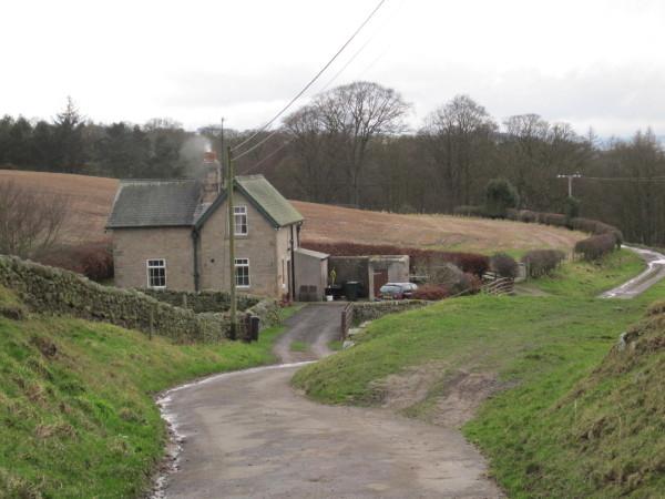 Cottage near Elrington