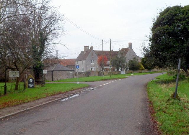 Left turn ahead for Marshacre Lane, Elberton