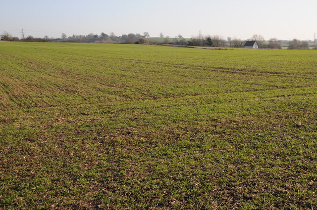 Farmland near Lower Smite Farm