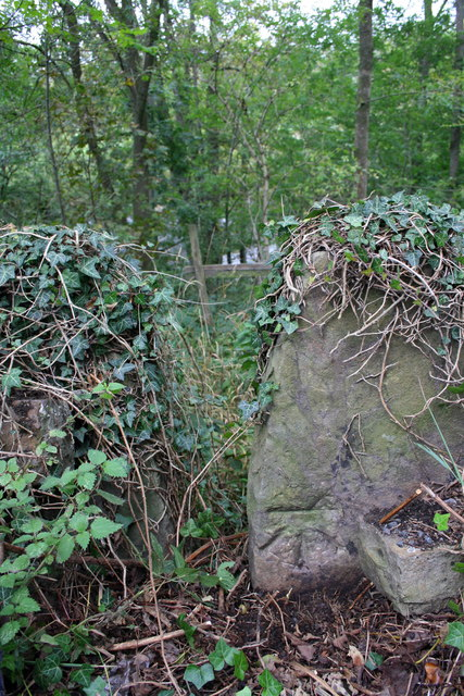 Benchmarked stile beside A684 at Wensley Ings