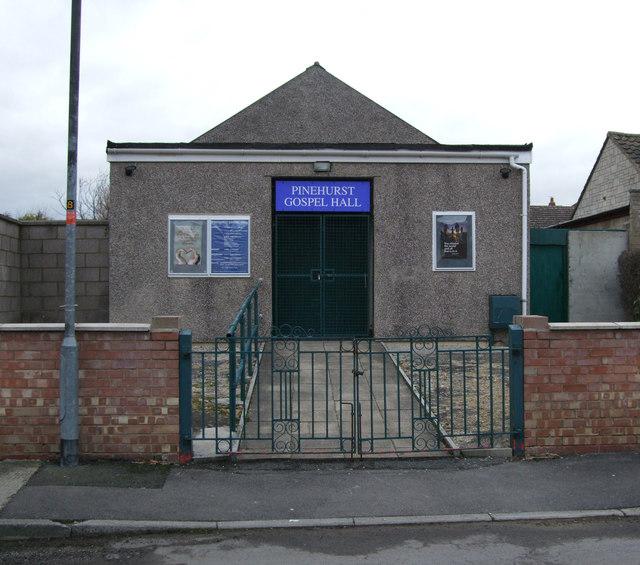 Pinehurst Gospel Hall, Liddington Street