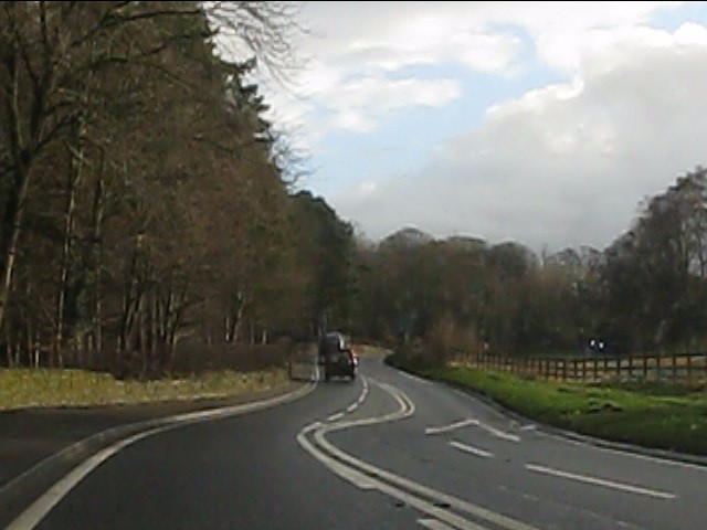 Chelford Road near Birtles Bridge
