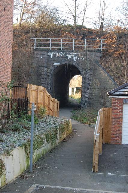 Path Netherthorpe to Station  Road