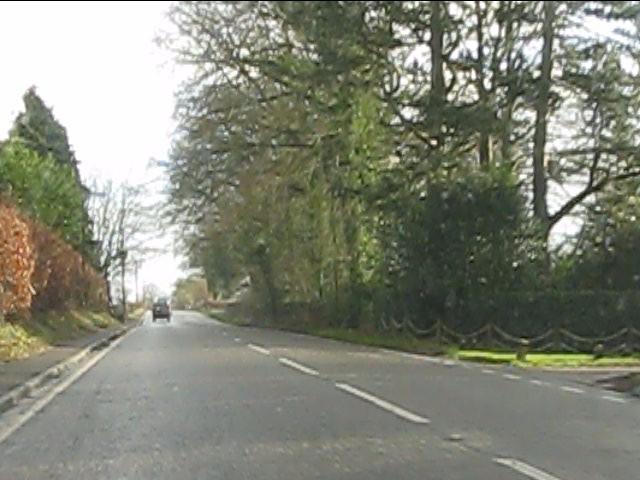 Chelford Road at Pale Lodge
