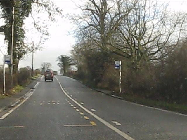 Chelford Road near Park House Farm