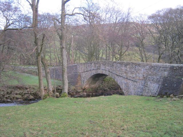 Eskeleth Bridge over Arkle Beck