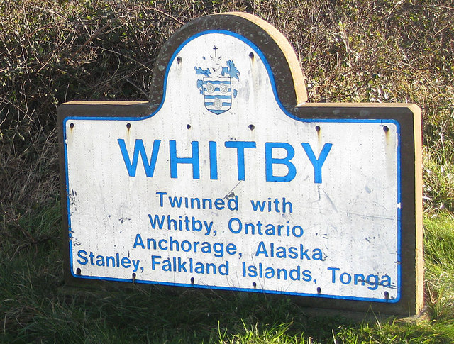 Whitby, twinned with Tonga