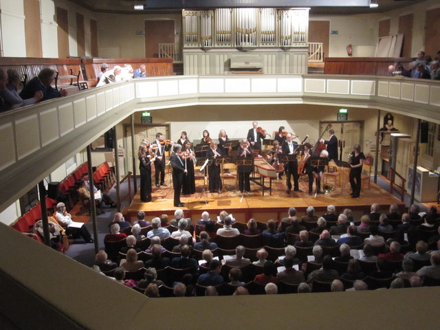 Northern Chamber Orchestra concert, Heritage Centre Macclesfield