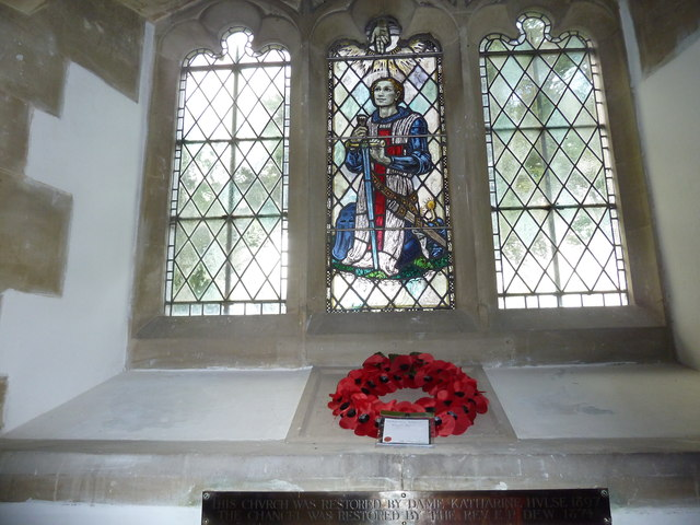 St Mary's Church, Breamore-stained glass window (5)