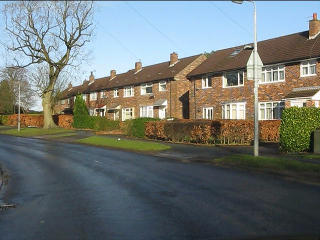Houses on Gawsworth Road