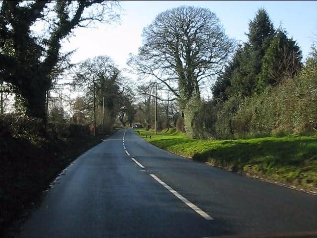Pexhill Road near Hopedale Farm
