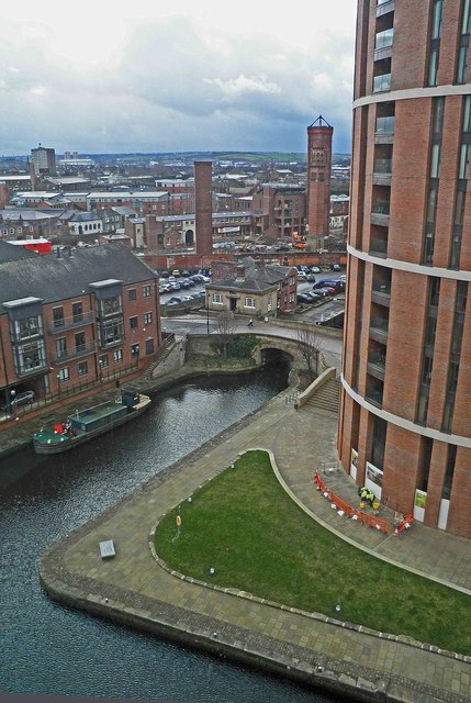 View from room 807 Double Tree Hilton hotel Leeds