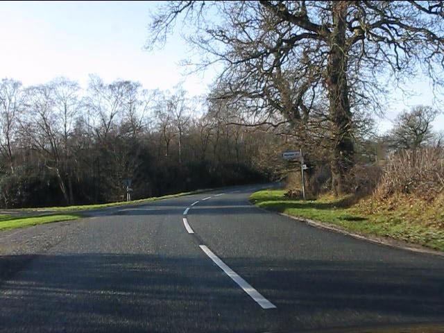 Colshaw Lane junction, Siddington Heath