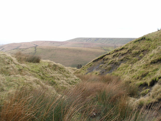 Acre Nook Clough from the Todmorden Centenary Way