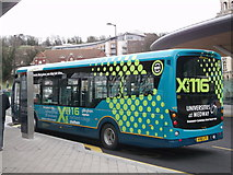 TQ7568 : New Arriva bus in Chatham Bus Interchange by David Anstiss