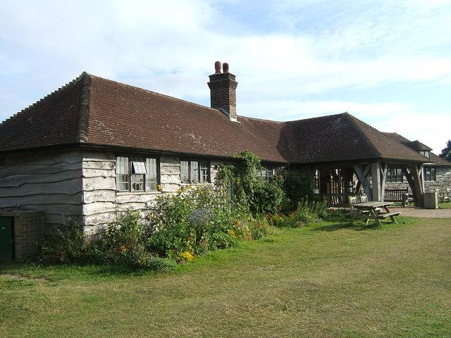 Visitors' centre at Richborough Castle