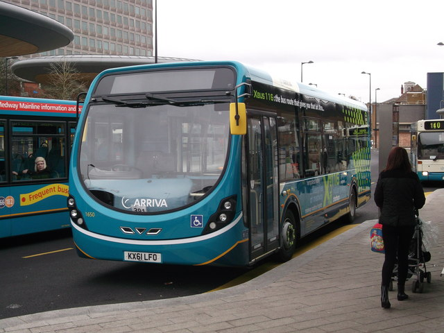 New Arriva bus in Chatham Bus Interchange (2)