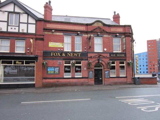 The Fox and Newt on Burley Street, Leeds