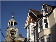 SY6778 : Belfry and Gables by Colin Smith