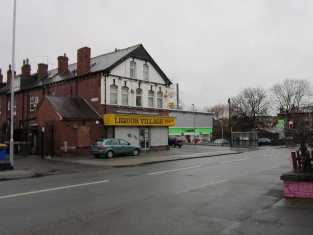 The Liquor Village on Cardigan Road, Leeds